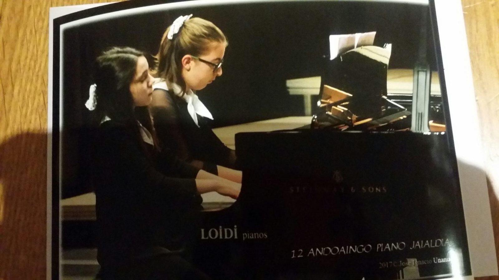 Andoaingo  XI.  Piano  Jaialdian  SARITUAK!
